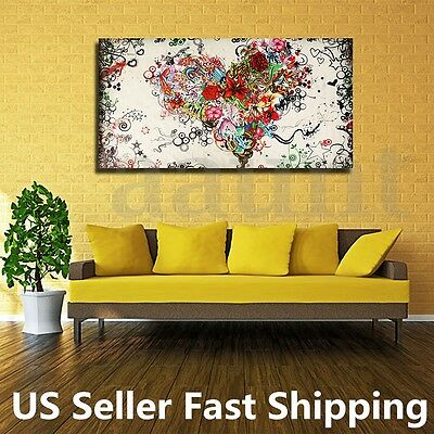 Large Modern Abstract hand-painted Art Oil Painting Wall Decor Canvas NO Framed