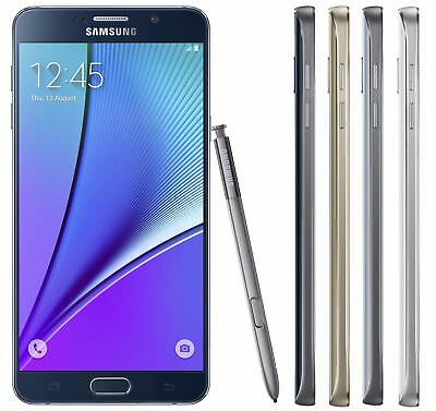 Samsung Galaxy Note 5 UNLOCKED 3264GB - GSM AT-T T-Mobile H20 4G Smartphone