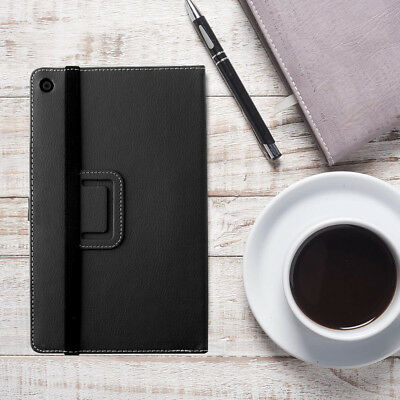 Poetic SlimFolio Case with Auto Wake  Sleep For Amazon Fire HD 8  2017  Black