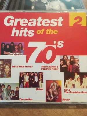 2 Cd – Greatest Hits Of The 70S-2 On Disky