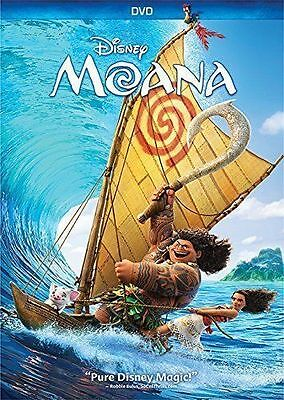 Moana DVD 2016Comedy Family Animation  BRAND NEW SEALED DVD
