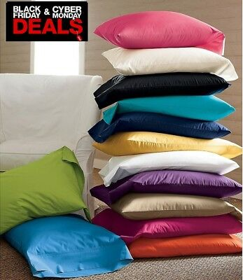 CYBER MONDAY DEAL 1500 SERIES 100 MICROFIBER 2PC PILLOWCASES SOLID ALL SIZES