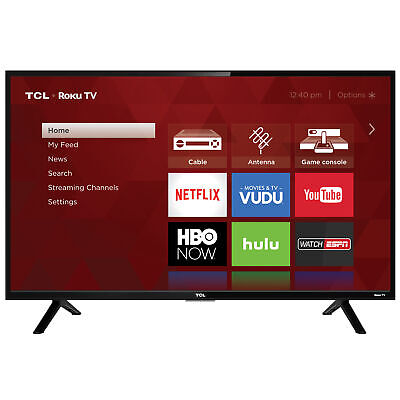 TCL 32S301 32 720p 60Hz Roku Smart LED TV