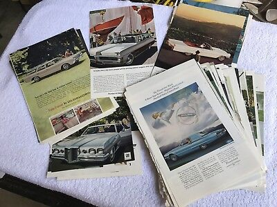 Large Lot of Vintage 60s Automotive Advertising