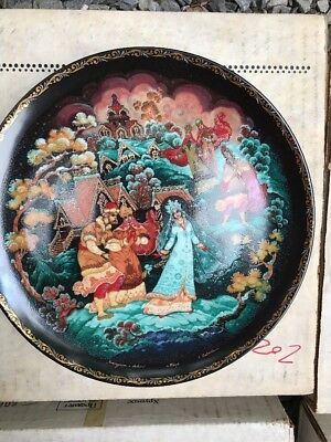 SNOWMAIDEN Series Plates 235 And 7 Russian Legend of Snowmaiden COA