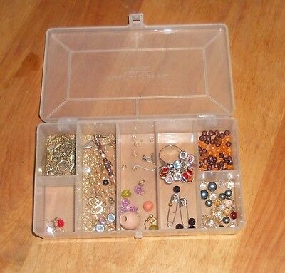 Crystal Beads Sets Mixed Glass Bead for Jewelry Making Loose Beads ESTATE FIND