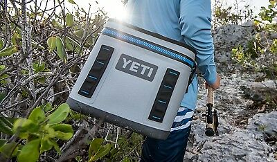 YETI Hopper Flip 8 Cooler Leakproof Fog GrayTahoe Blue Brand New With Tags