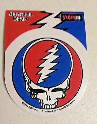 119 Small Grateful Dead STEAL YOUR FACE 2-5 sticker decal 408 ©GDP