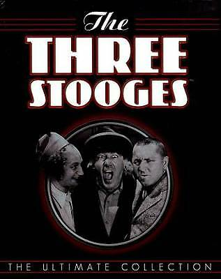 The Three Stooges The Ultimate Collection DVD 2012 20-Disc Set