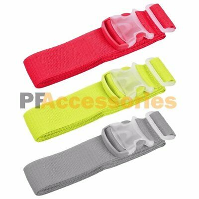 124 Pack 72 inch Adjustable Travel Suitcase Baggage Luggage Strap Color Belt