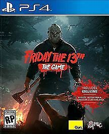 Friday the 13th The Game Sony PlayStation 4 2017