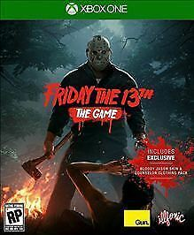 Friday the 13th The Game Microsoft Xbox One 2017