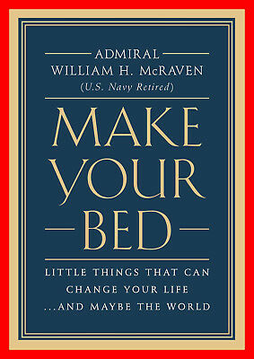 Make Your Bed  Little Things That Can Change Your Life –Digital edition  EB✪✪K