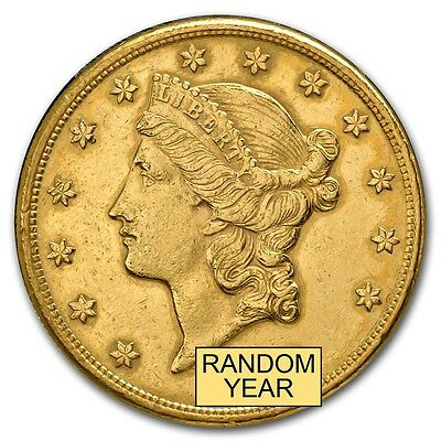 20 Liberty Gold Double Eagle Coin Cleaned - SKU 151600