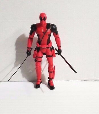 X-Men Deadpool Wade Wilson 7 Inches PVC Action Figure Toy Free Shipping