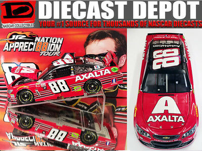 DALE EARNHARDT JR 2017 FINAL RIDE AXALTA BUDWEISER THROWBACK 124 SCALE ACTION