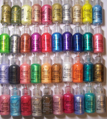 -5oz Liquid Pearls Dimensional Pearlescent Paint for Fabric - Paper U Pick Color