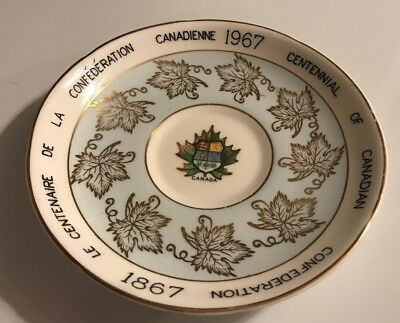 Royal Grafton Fine Bone China Canadian Centennial Saucer Only FREE SHIPPING