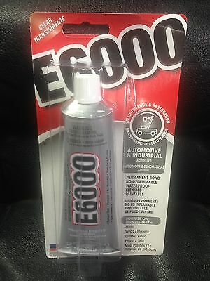 E6000 INDUSTRIAL STRENGTH CLEAR GLUE CRAFT  ADHESIVE 3-7 OZ