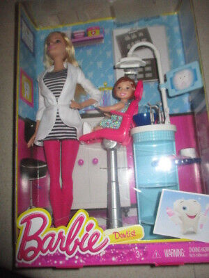 Barbie Careers Dentist  - Box May Have Damage
