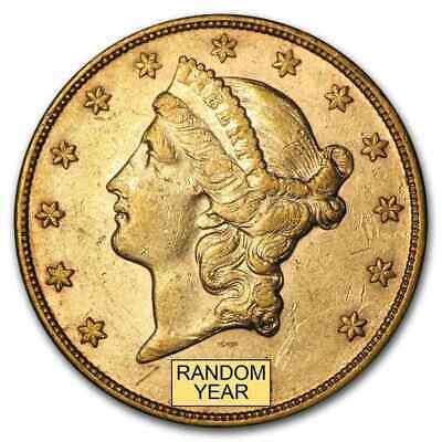 SPECIAL PRICE 20 Liberty Gold Double Eagle XF Random Year - SKU 159354
