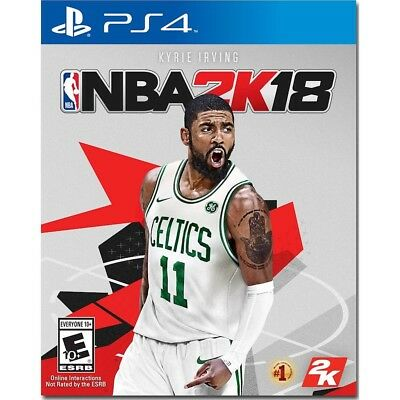 PS4 NBA 2K18 Brand New Factory Sealed