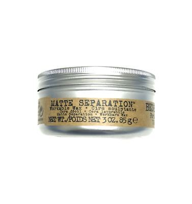 Tigi Bed Head For Men Matte Separation Wax 3 Oz