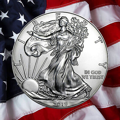 2018 1 American Silver Eagle BU 1-Ounce   IN STOCK