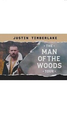 2 Tickets to Justin Timberlake in Las Vegas Section 13 Row N at T-Mobile Arena