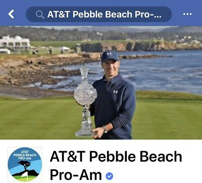 2 AT-T Pebble Beach Pro-Am Any Day  Tickets - Monterey California- 25-1118