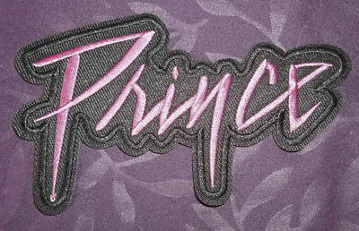PRINCE PATCH PURPLE RAIN LOGO EMBROIDERED SEW IRON ON DIY