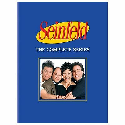 Seinfeld - The Complete Series Box Set DVD 2013 33-Disc Set Audio Commentary