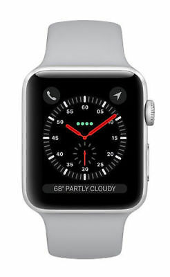 Apple Watch Series 3 42mm Silver Aluminium Case with Fog Sport Band GPS - MQL
