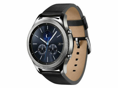 New Samsung Galaxy Gear S3 Classic 46mm Silver Stainless Steel Case Watch R775A