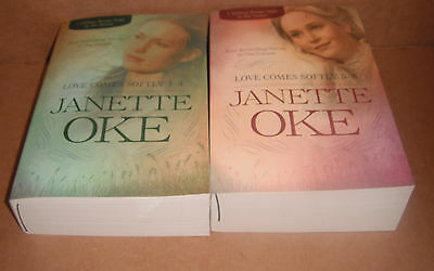 The Love Comes Softly 1-4 and 5-8 Complete Set by Janette Oke  Paperback