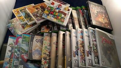 Replacement Cases Manuals andor Inserts FREE SHIPPING NO GAME - Mario Pokemon