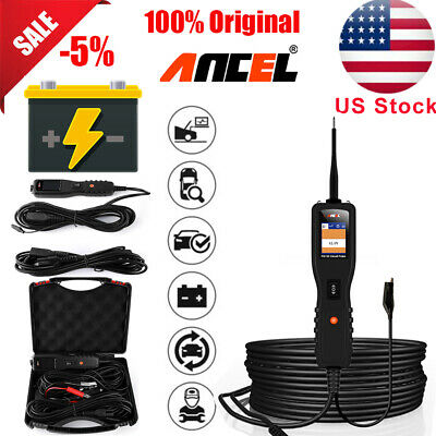 12V 24V US Circuit Tester Electrical Power Probe AVOmeter Automotive Scan Tools