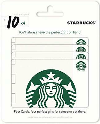 Starbucks Gift Card 2 x 10 Email Delivery Send Fast Convenient