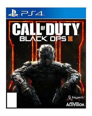 New Sealed Call of Duty Black Ops III 3 for Sony PlayStation 4 PS4 COD