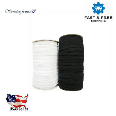 Knitted Elastic BlackWhite 18 to 34 for waistbands sleeves underwear skirts