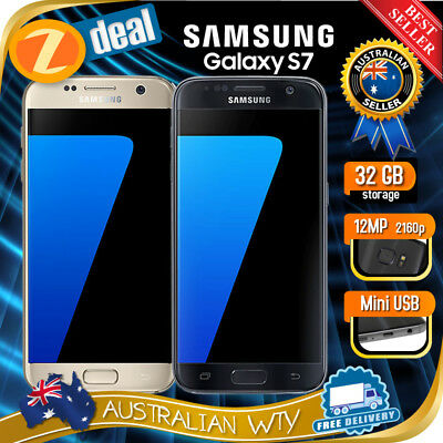 SAMSUNG GALAXY S7 SM-G930F UNLOCKED PHONE AU STOCK AU MODEL AU VERSION