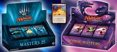 GARBAGE MASTERS BOOSTER BOX BUNDLE ICONIC MASTERS - MASTERS 25 - GARBAGE FIRE