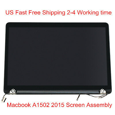 Macbook Pro Retina 13 A1502 Early 2015 LCD Display Screen Assembly Replacement