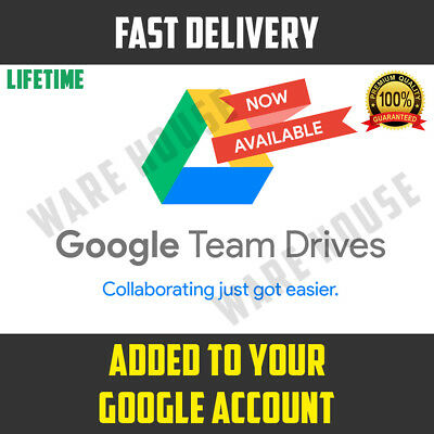 Google Drive Unlimited added to your Google Account LIFETIME NOT EDU