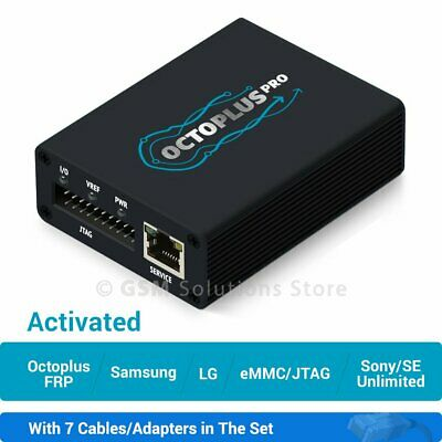 Octoplus Pro Box with Cables Samsung-LG-eMMCJTAG-FRP-Sony Ericsson activation