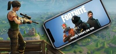 Fortnite Mobile iOS iPhone Invite Code- Exclusive