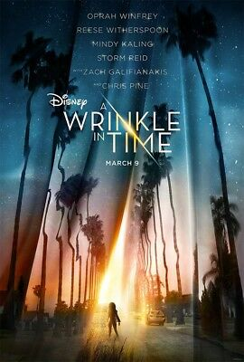 A Wrinkle In Time2018 DISNEY BLU-RAY ONLY PRE-ORDER 6-5-18 READ DESCRITION