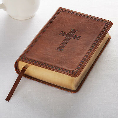 KJV Large Print Tan Compact Bible Please see description for more details