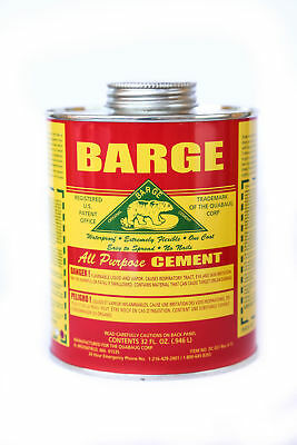 Barge All Purpose Cement Glue QUART with Applicator NEW