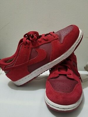 Cyber Monday sale NIKE sneakers  RED LOW DUNK KID SZ3